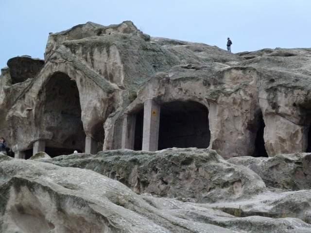 Уплисцихе - Пещерният град